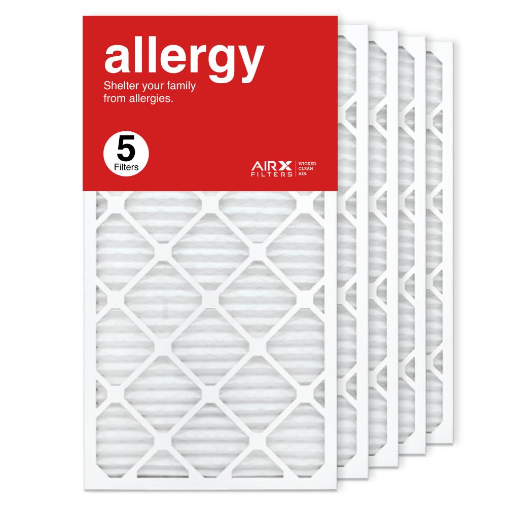 16x30x1 AIRx ALLERGY Air Filter, 5-Pack