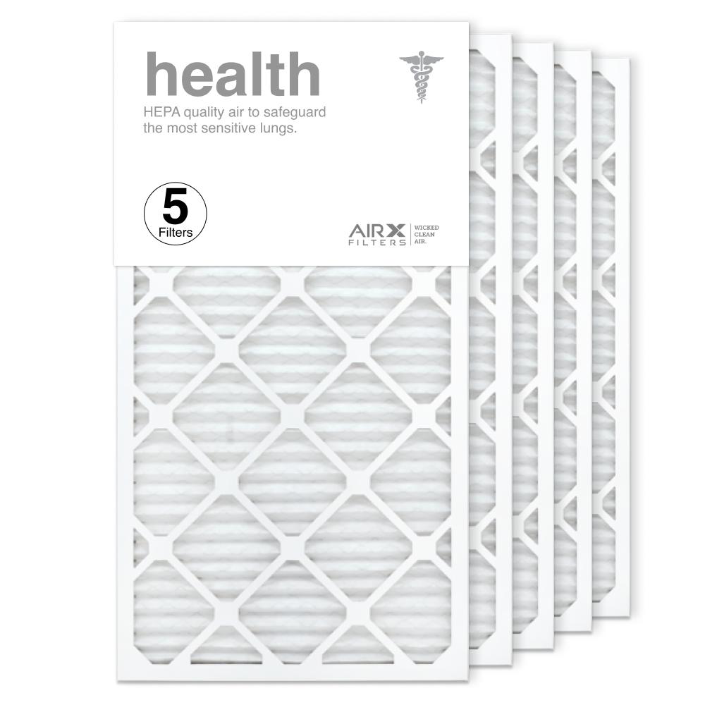 16x30x1 AIRx HEALTH Air Filter, 5-Pack