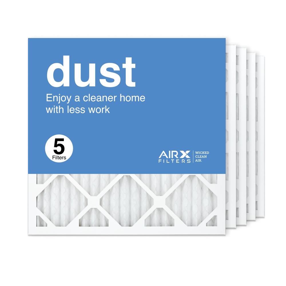 18x18x1 AIRx DUST Air Filter, 5-Pack