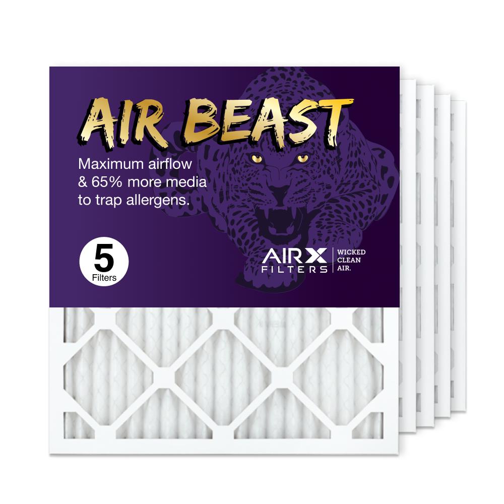 18x20x1 AIRx Air Beast High Flow Air Filter, 5-Pack
