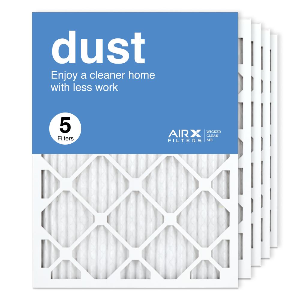 18x24x1 AIRx DUST Air Filter, 5-Pack