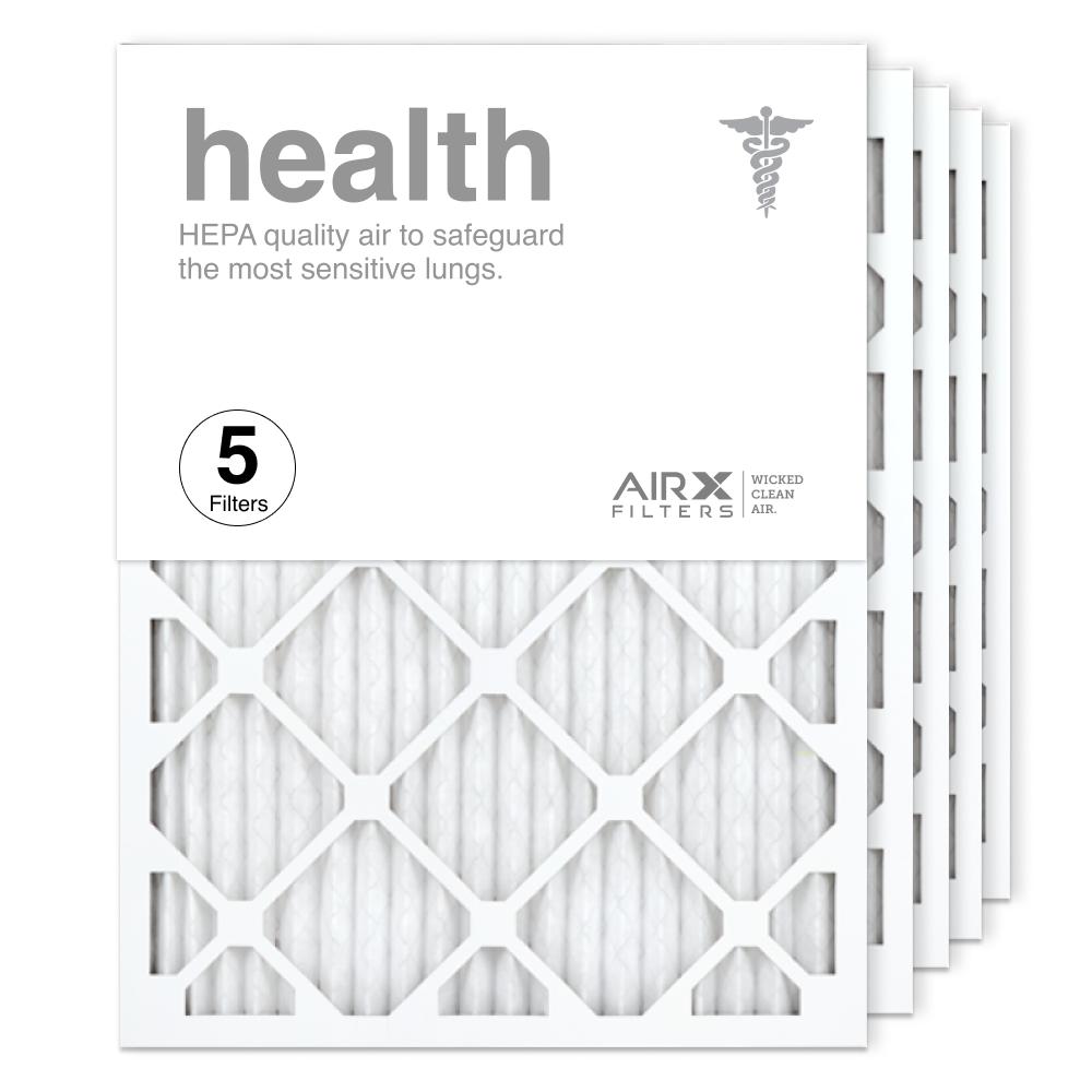 18x24x1 AIRx HEALTH Air Filter, 5-Pack