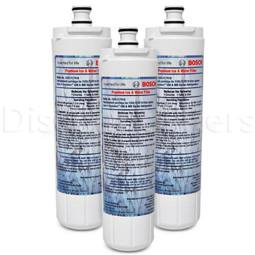 Bosch 640565 Refrigerator Water Filter, 2-Pack