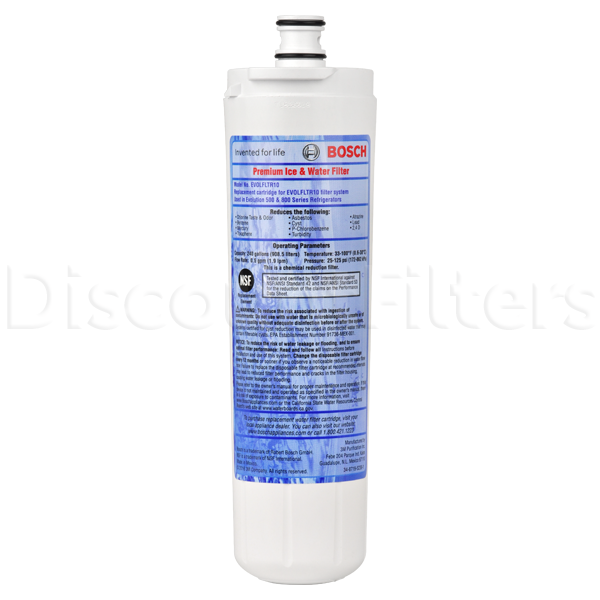 Bosch 640565 Refrigerator Water Filter, 3-Pack