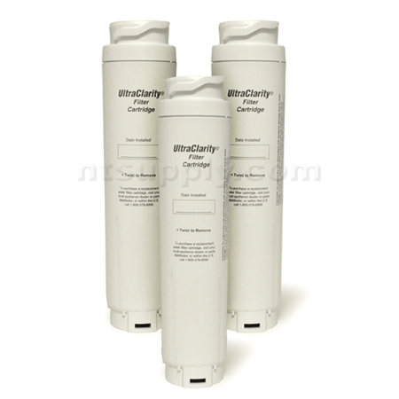 Bosch / Cuno UltraClarity REPLFLTR10 Refrigerator Filter, 3-Pack