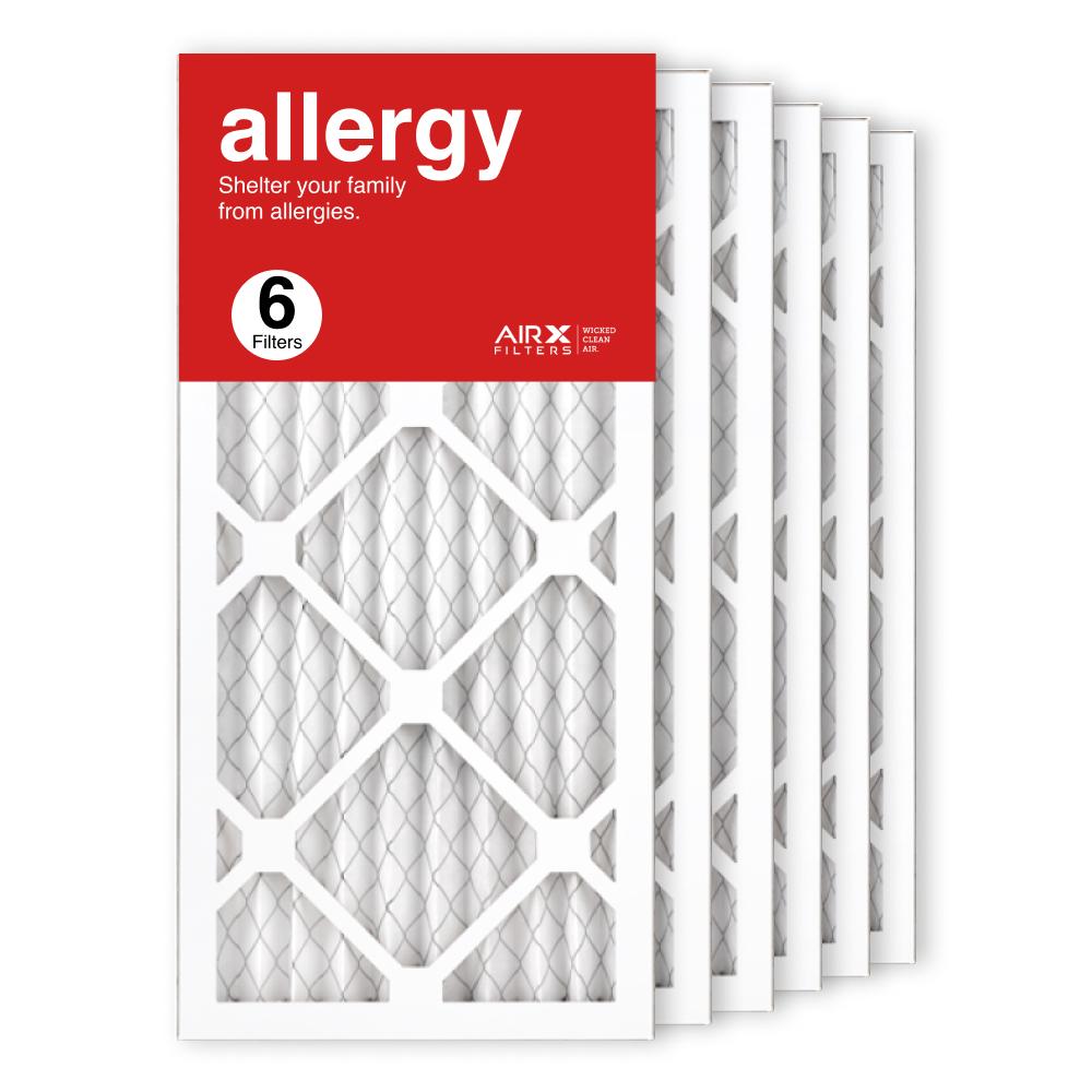 10x20x1 AIRx ALLERGY Air Filter, 6-Pack