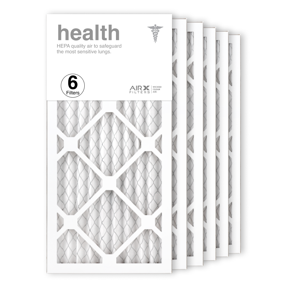 10x20x1 AIRx HEALTH Air Filter, 6-Pack