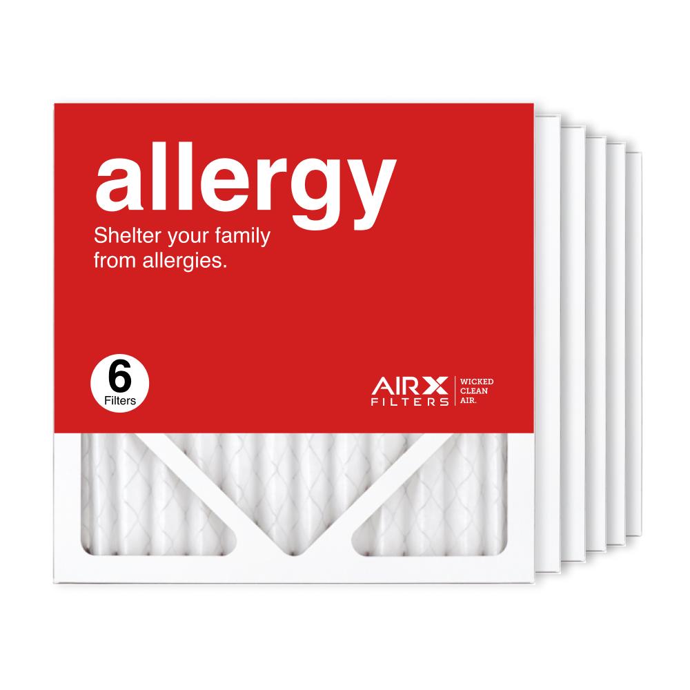12x12x1 AIRx ALLERGY Air Filter, 6-Pack