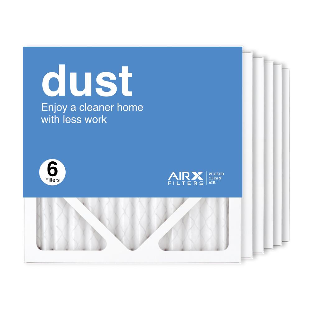 12x12x1 AIRx DUST Air Filter, 6-Pack