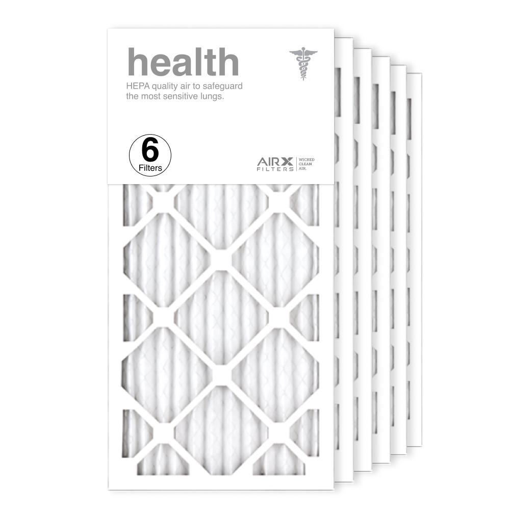 12x25x1 AIRx HEALTH Air Filter, 6-Pack