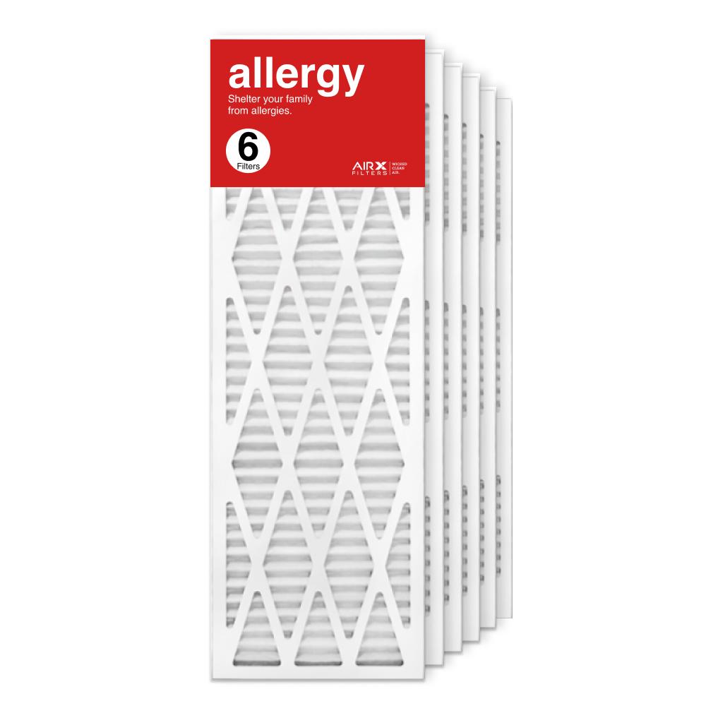 12x36x1 AIRx ALLERGY Air Filter, 6-Pack