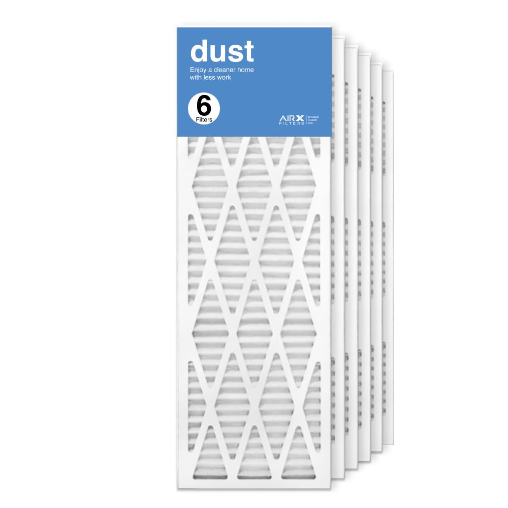 12x36x1 AIRx DUST Air Filter, 6-Pack