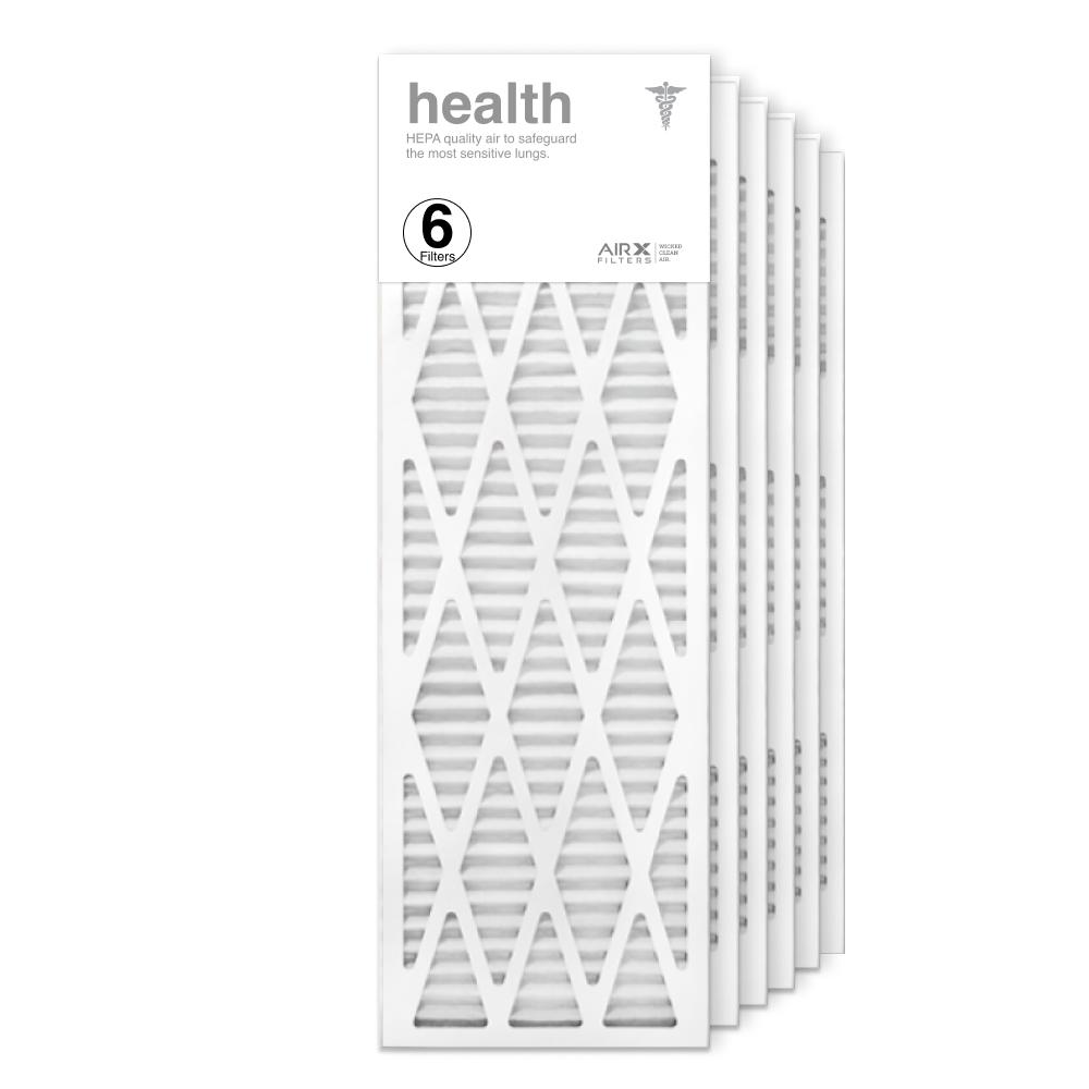 12x36x1 AIRx HEALTH Air Filter, 6-Pack