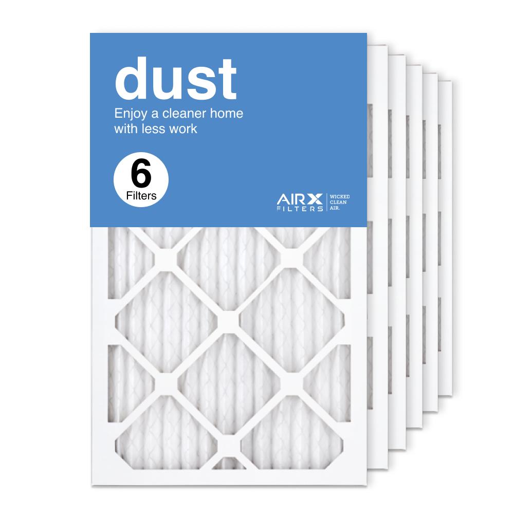 13x21.5x1 AIRx DUST Air Filter, 6-Pack
