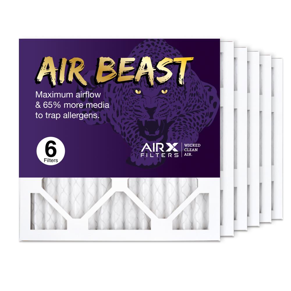 14x14x1 AIRx Air Beast High Flow Air Filter, 6-Pack