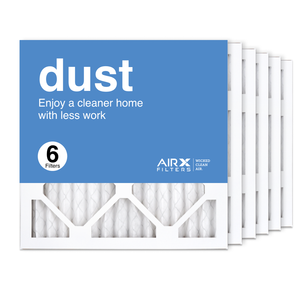14x14x1 AIRx DUST Air Filter, 6-Pack