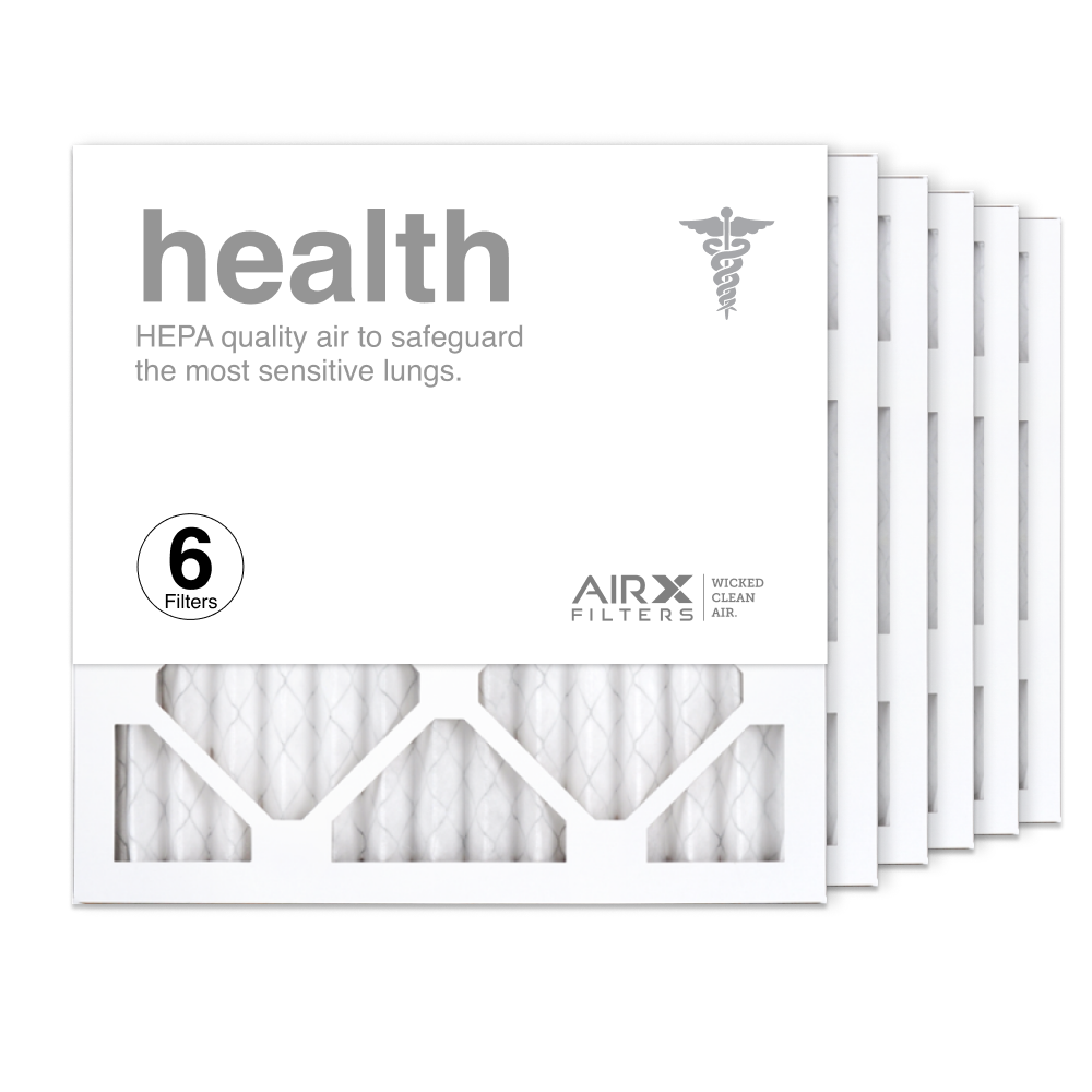 14x14x1 AIRx HEALTH Air Filter, 6-Pack