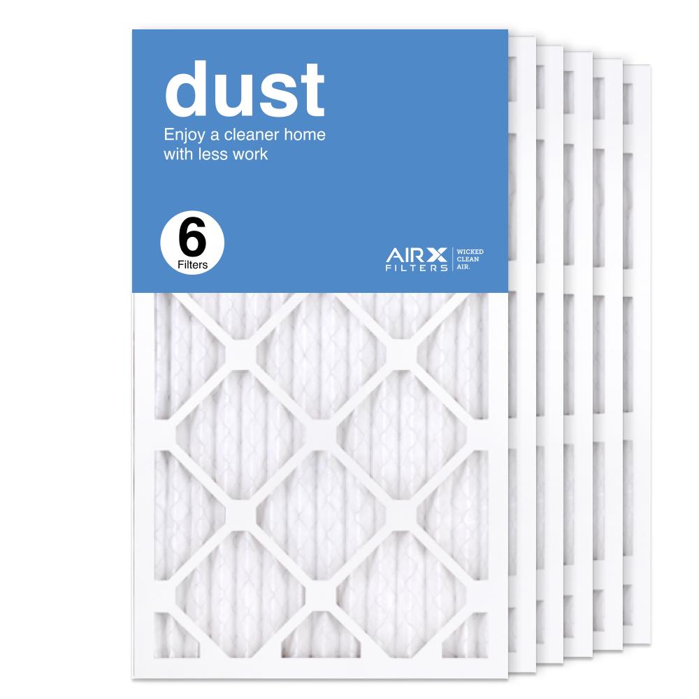 14x24x1 AIRx DUST Air Filter, 6-Pack