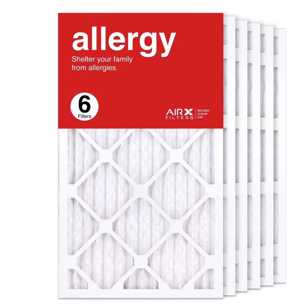 14x25x1 AIRx ALLERGY Air Filter, 6-Pack