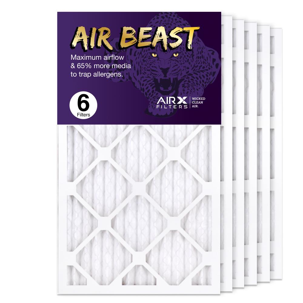 14x25x1 AIRx Air Beast High Flow Air Filter, 6-Pack