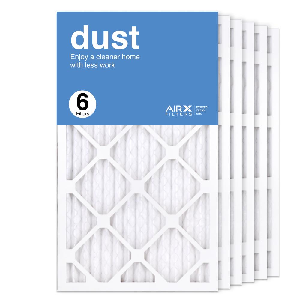 14x25x1 AIRx DUST Air Filter, 6-Pack