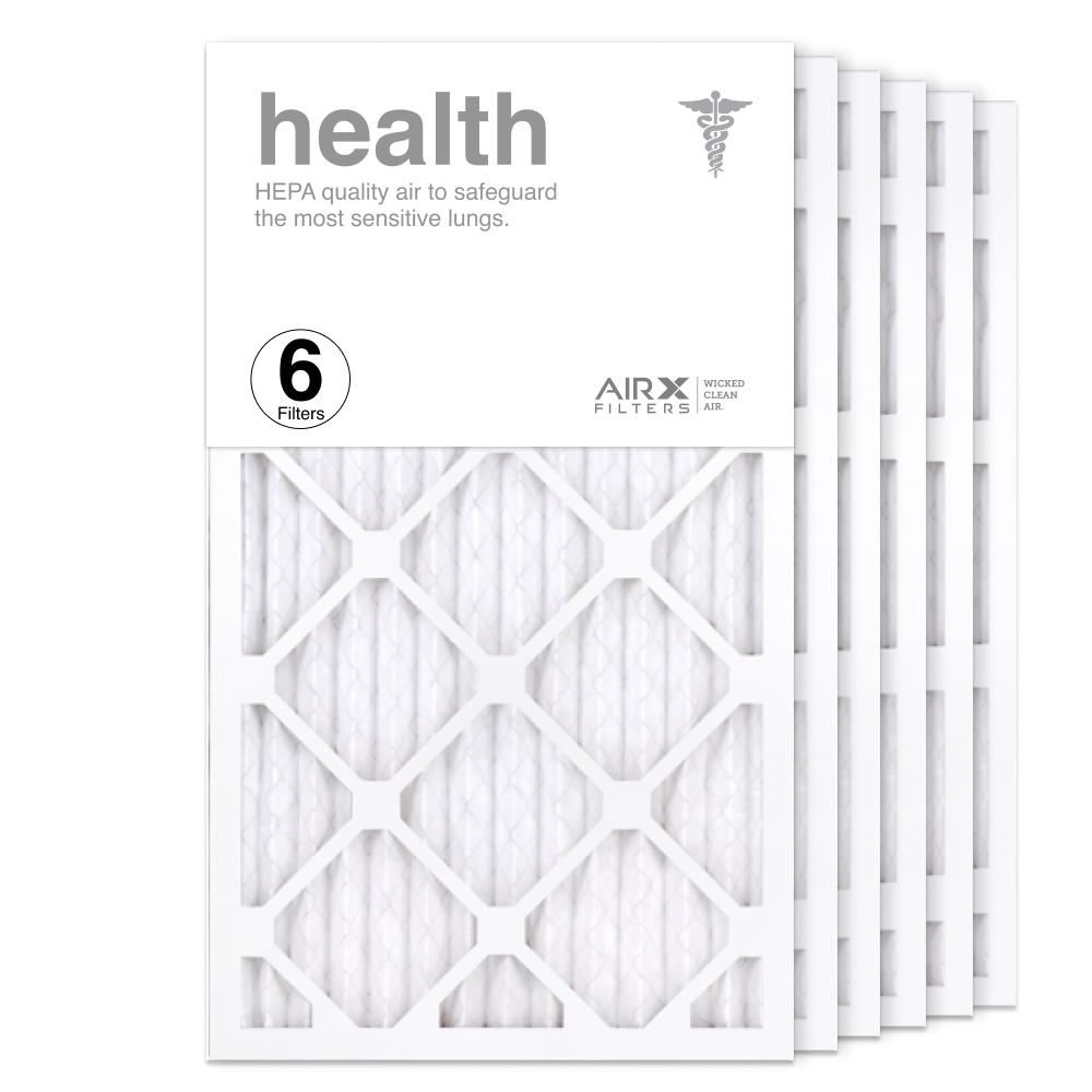 14x25x1 AIRx HEALTH Air Filter, 6-Pack