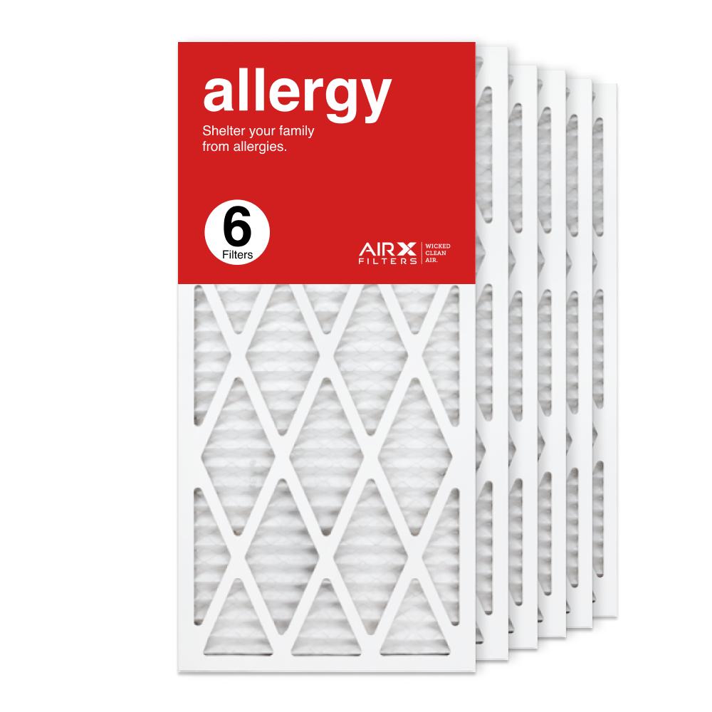 14x30x1 AIRx ALLERGY Air Filter, 6-Pack