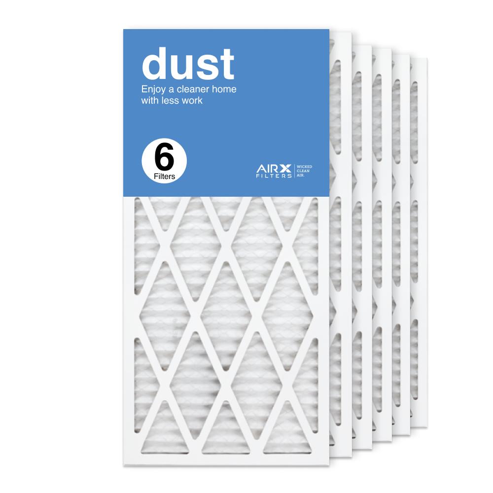14x30x1 AIRx DUST Air Filter, 6-Pack