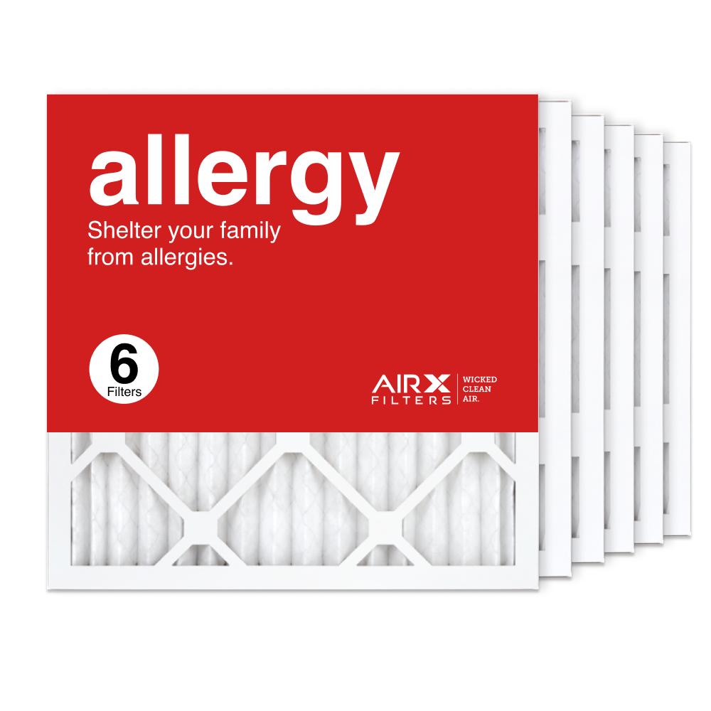 16x16x1 AIRx ALLERGY Air Filter, 6-Pack