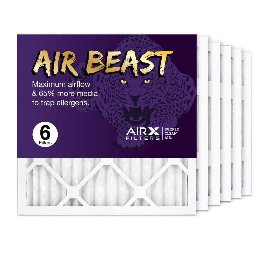 16x16x1 AIRx Air Beast High Flow Air Filter, 6-Pack