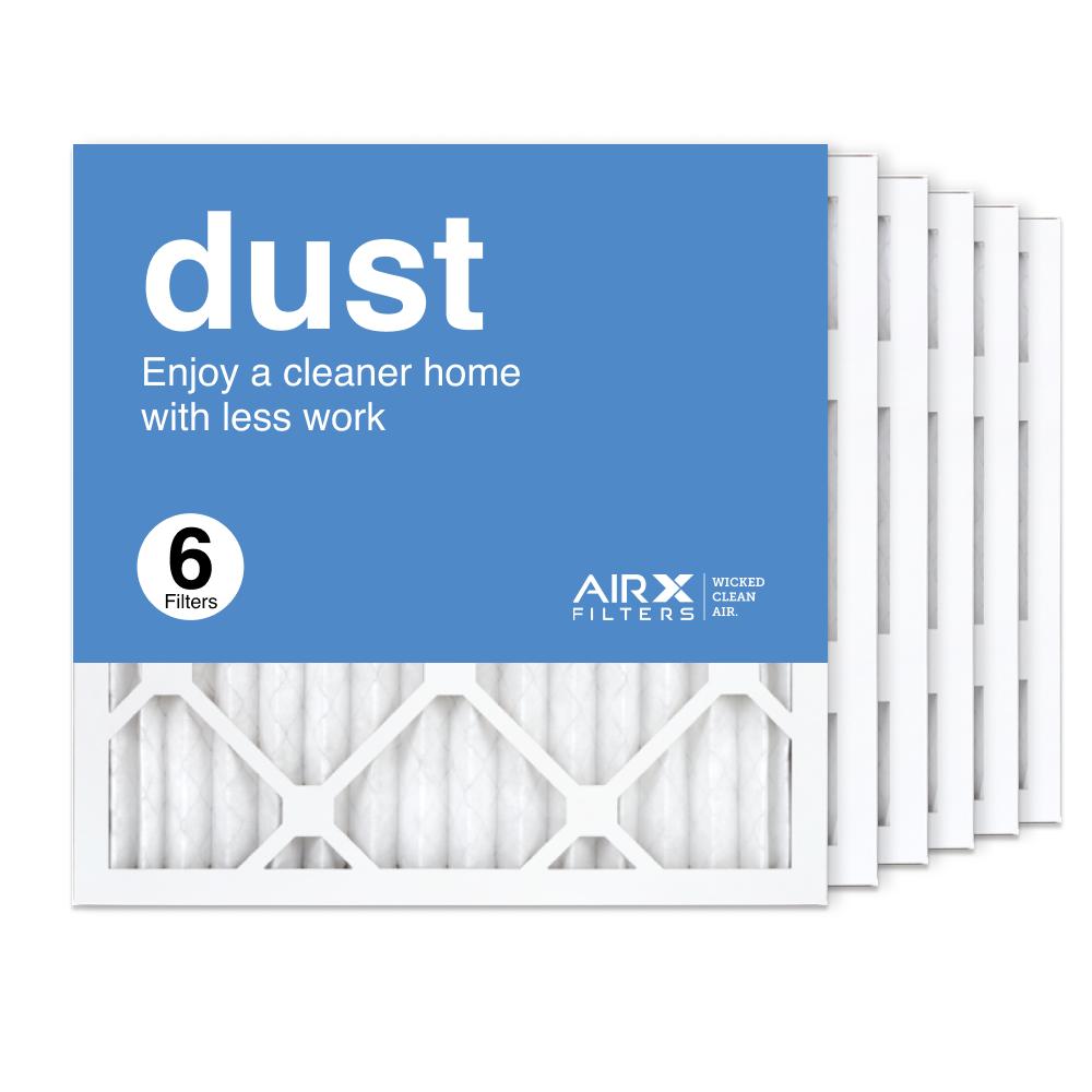 16x16x1 AIRx DUST Air Filter, 6-Pack