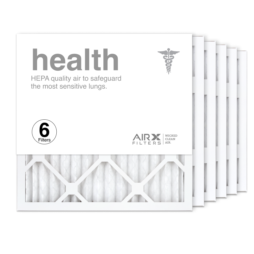 16x16x1 AIRx HEALTH Air Filter, 6-Pack