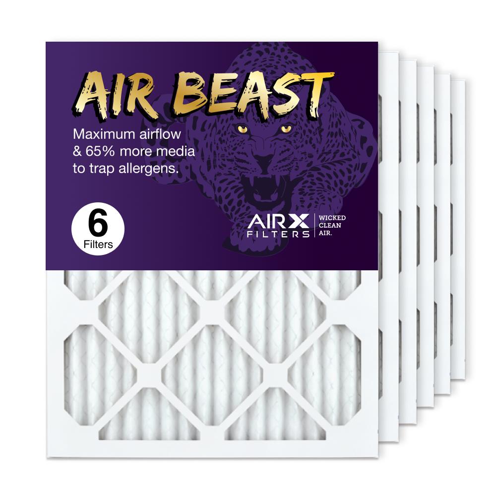 16x20x1 AIRx Air Beast High Flow Air Filter, 6-Pack