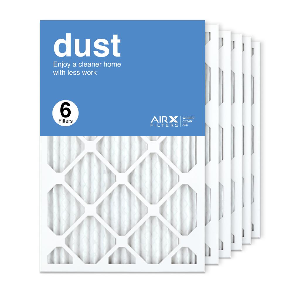 16x24x1 AIRx DUST Air Filter, 6-Pack