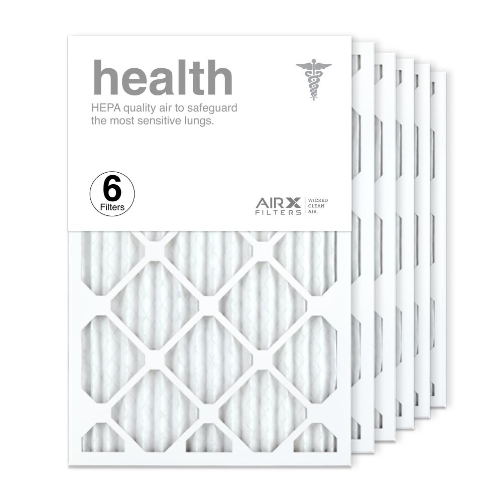 16x24x1 AIRx HEALTH Air Filter, 6-Pack