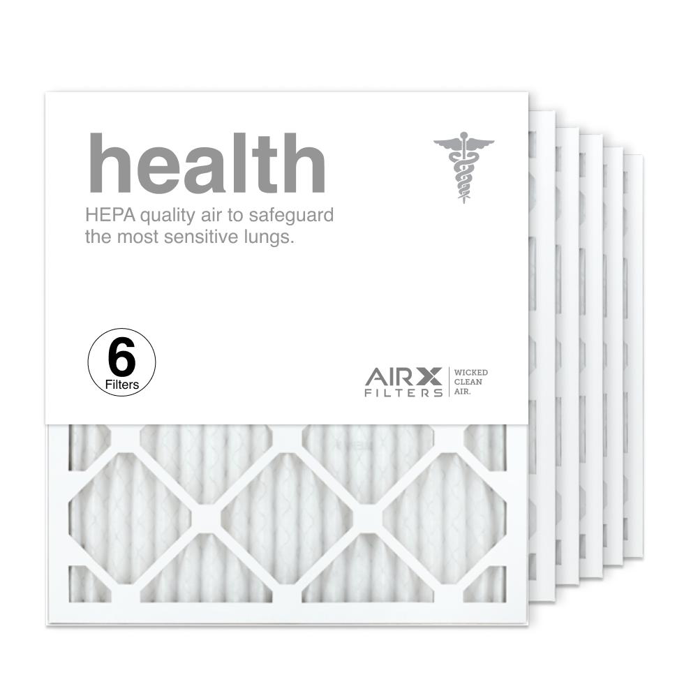 18x20x1 AIRx HEALTH Air Filter, 6-Pack