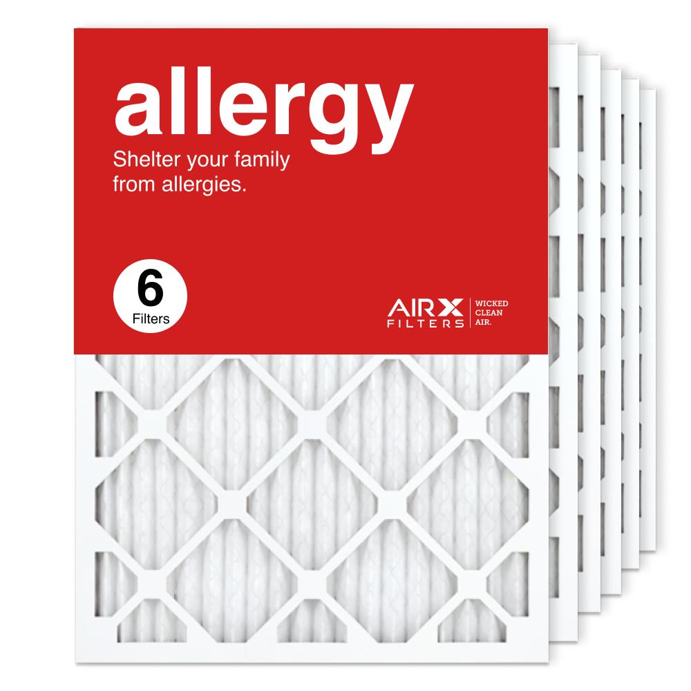 18x24x1 AIRx ALLERGY Air Filter, 6-Pack