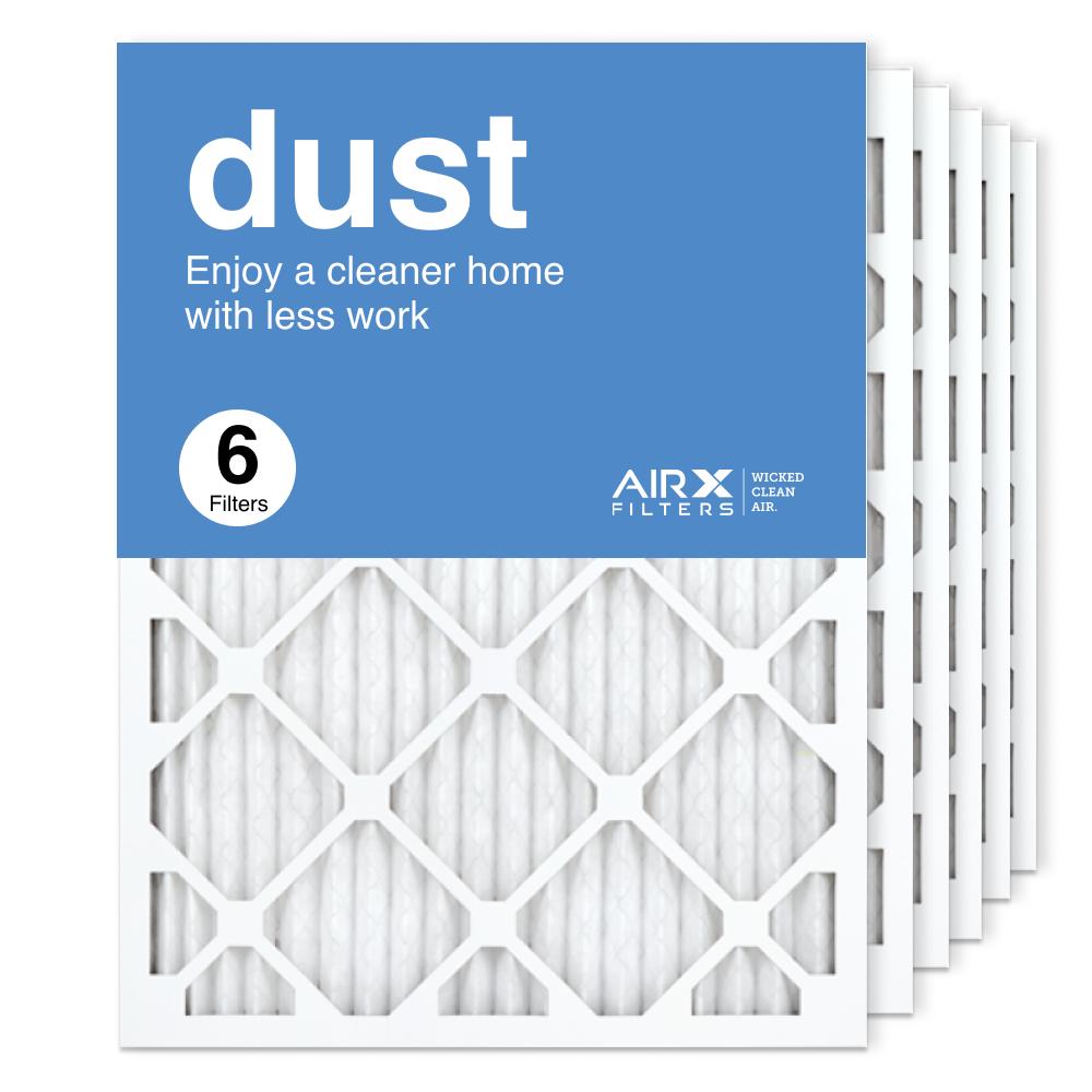 18x24x1 AIRx DUST Air Filter, 6-Pack