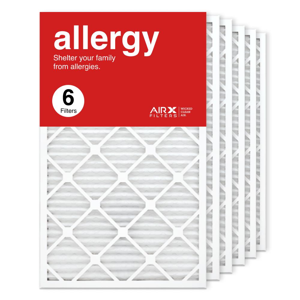 18x30x1 AIRx ALLERGY Air Filter, 6-Pack