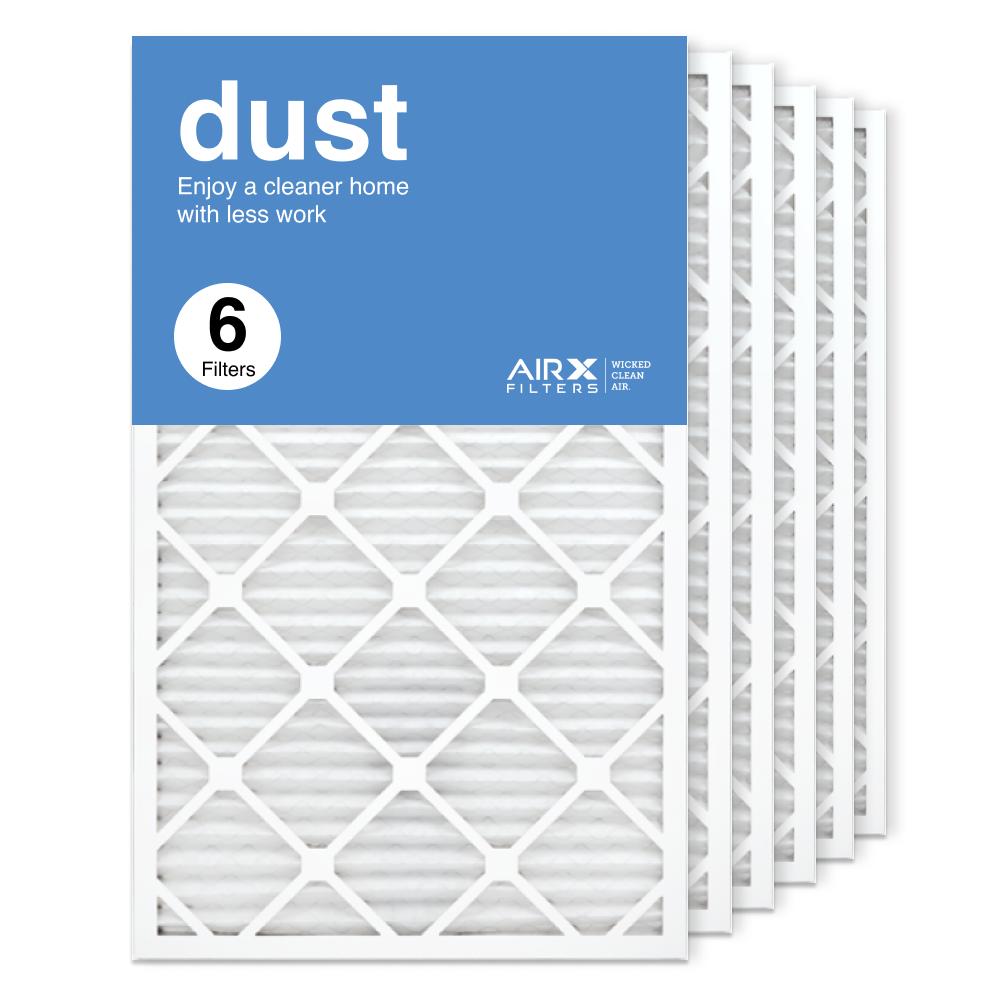 18x30x1 AIRx DUST Air Filter, 6-Pack
