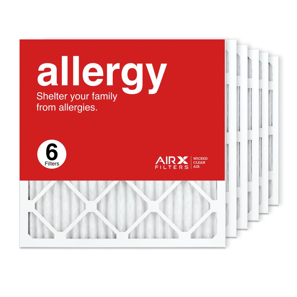 20x20x1 AIRx DUST Air Filter, 6-Pack