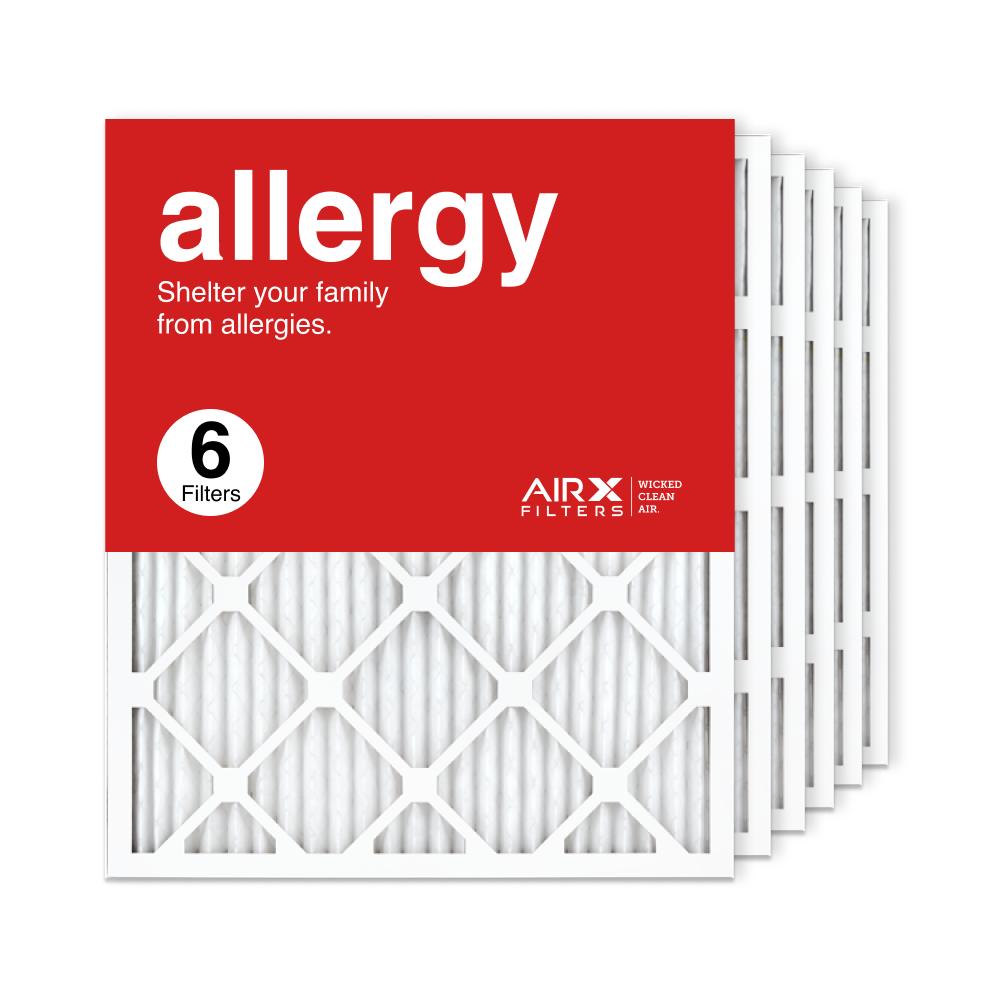 20x25x1 AIRx ALLERGY Air Filter, 6-Pack