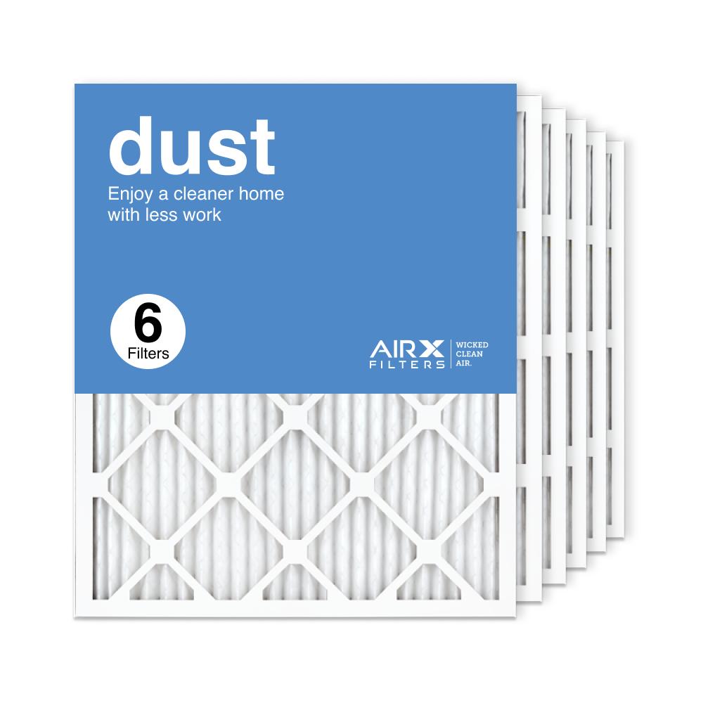 20x25x1 AIRx DUST Air Filter, 6-Pack