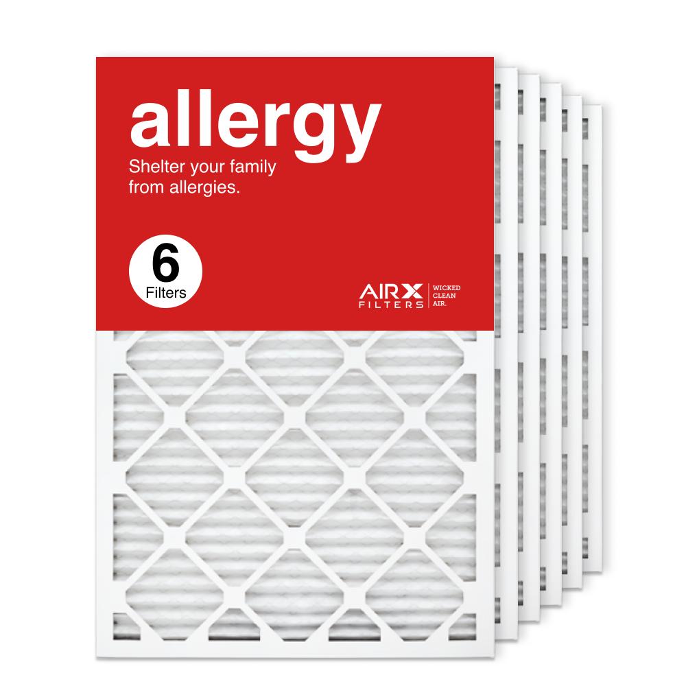 20x30x1 AIRx ALLERGY Air Filter, 6-Pack