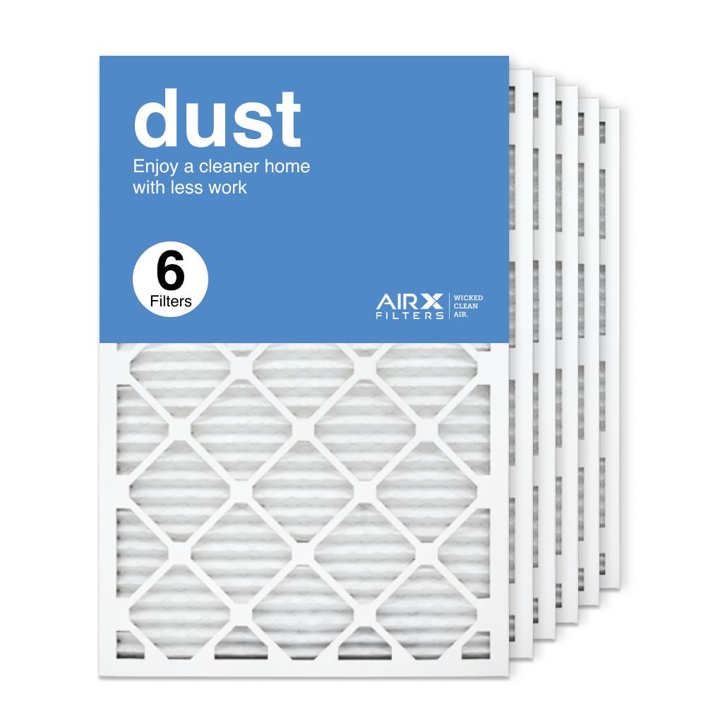 20x30x1 AIRx DUST Air Filter, 6-Pack