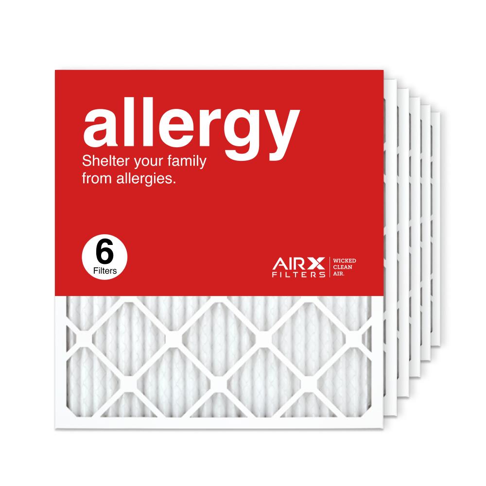 21.5x23.5x1 AIRx ALLERGY Air Filter, 6-Pack