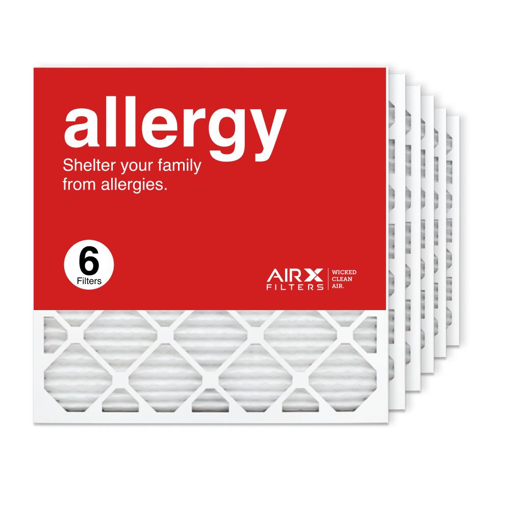 24x24x1 AIRx ALLERGY Air Filter, 6-Pack