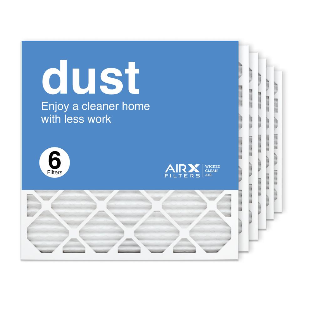 24x24x1 AIRx DUST Air Filter, 6-Pack