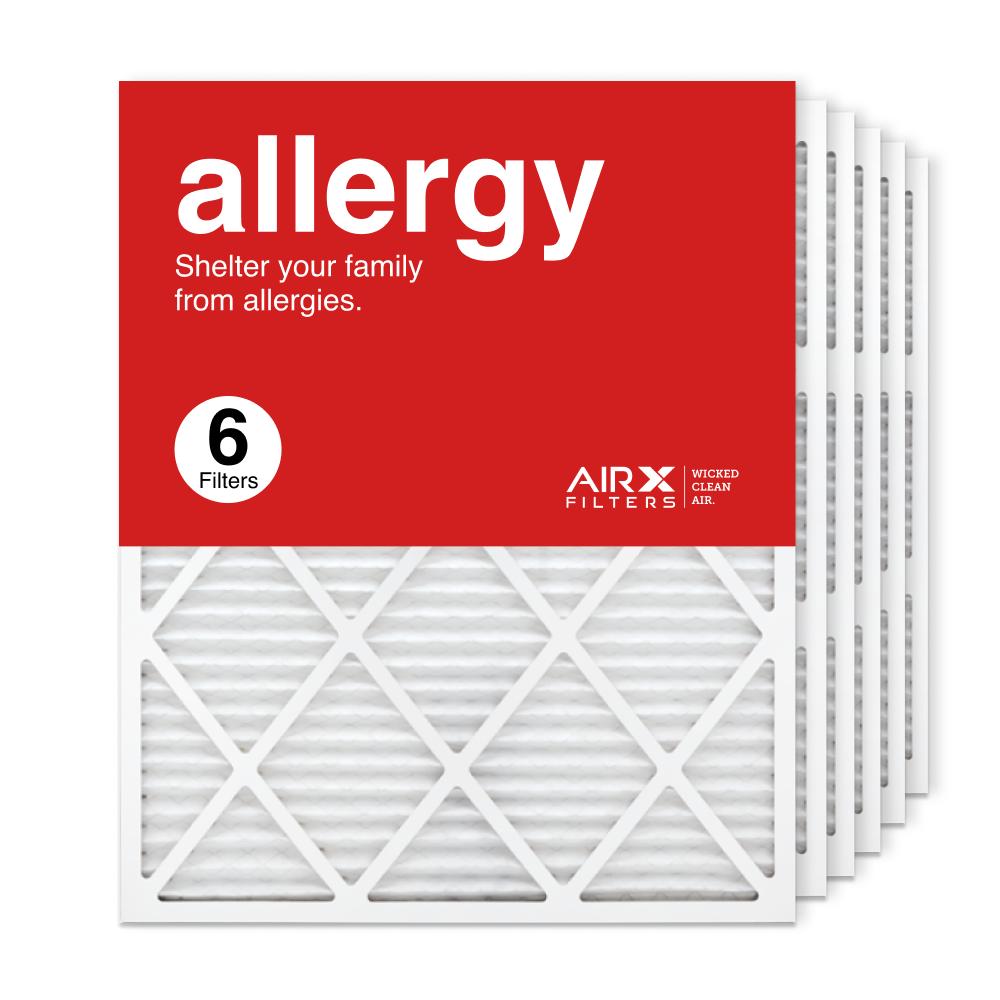24x30x1 AIRx ALLERGY Air Filter, 6-Pack