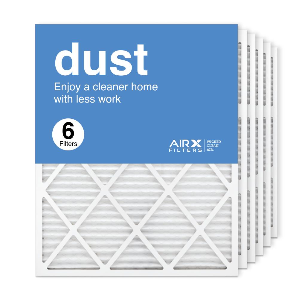 24x30x1 AIRx DUST Air Filter, 6-Pack